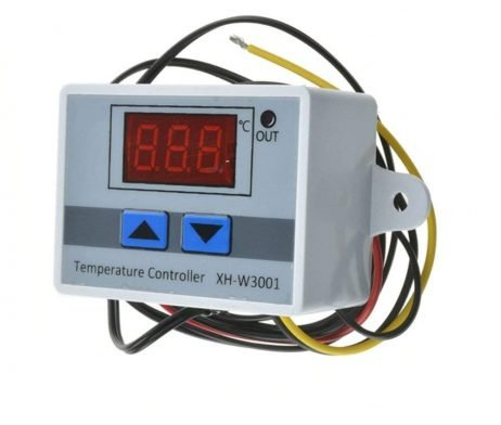 XH-W3001 DC 12V 120W Digital Microcomputer Thermostat Switch