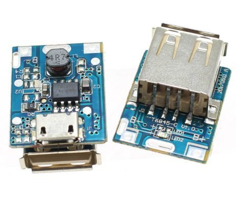 5V Step-Up Power Module Lithium Battery Charging Protection Board USB For DIY Charger 134N3P