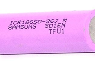 SAMSUNG ICR18650-26 JM 2600mAh Li-Ion Battery(Original)