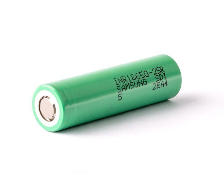 SAMSUNG INR18650-25R 2500mAh Li-Ion Battery(Original)