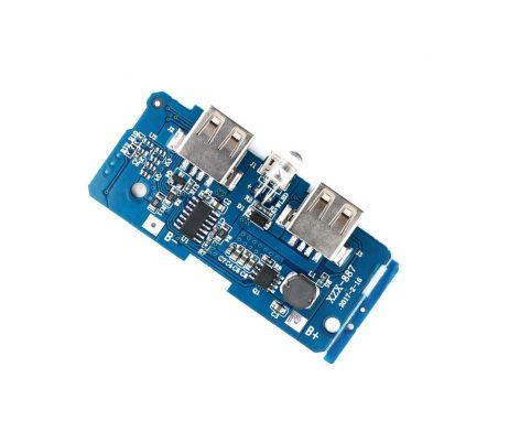 Dual Micro USB 3.7v to 5V, 2A Power Bank DIY 18650 LiPo Charger