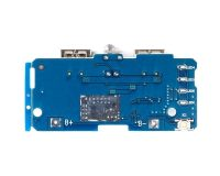Dual Micro USB 3.7v to 5V 2A Mobile Power Bank DIY 18650 Lithium Battery Charger Module With Led