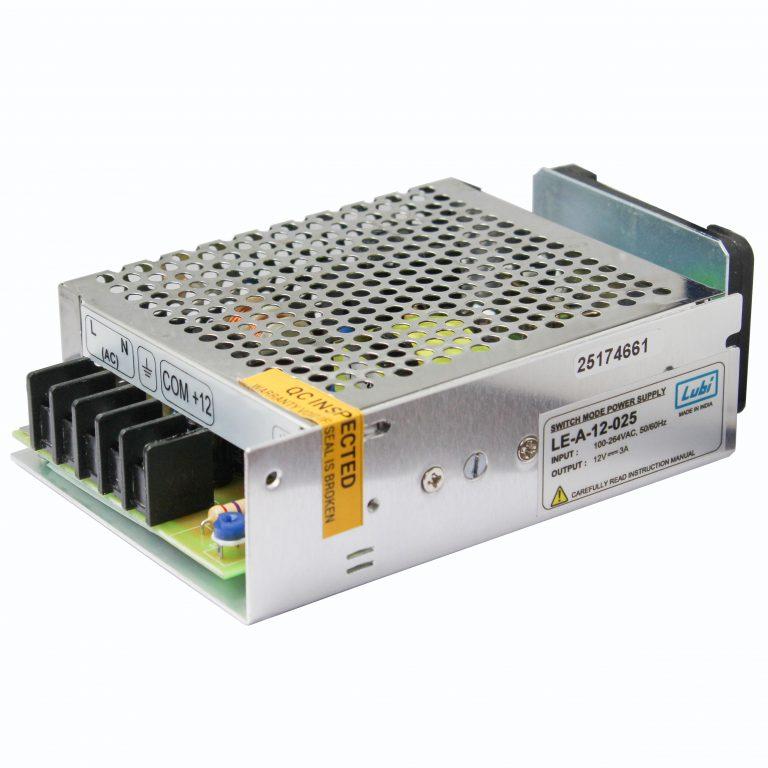 LUBI 12V 3A 35W Switch Mode Power Supply