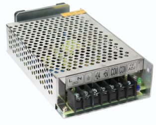 LUBI DUAL Channel 24V_2A and 5V_3A 60W Switch Mode Power Supply
