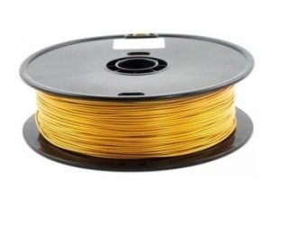 WANHAO Gold color PLA 1.75 mm 1 kg Filament for 3D printer – Premium Quality