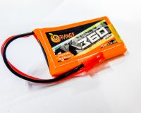 Orange 360 mAh 1S 30C/60C Lithium polymer battery Pack (LiPo)
