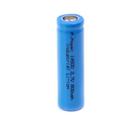 Standard 14500 800mAh 3.7V AA Size Rechargeable Li-Ion Battery