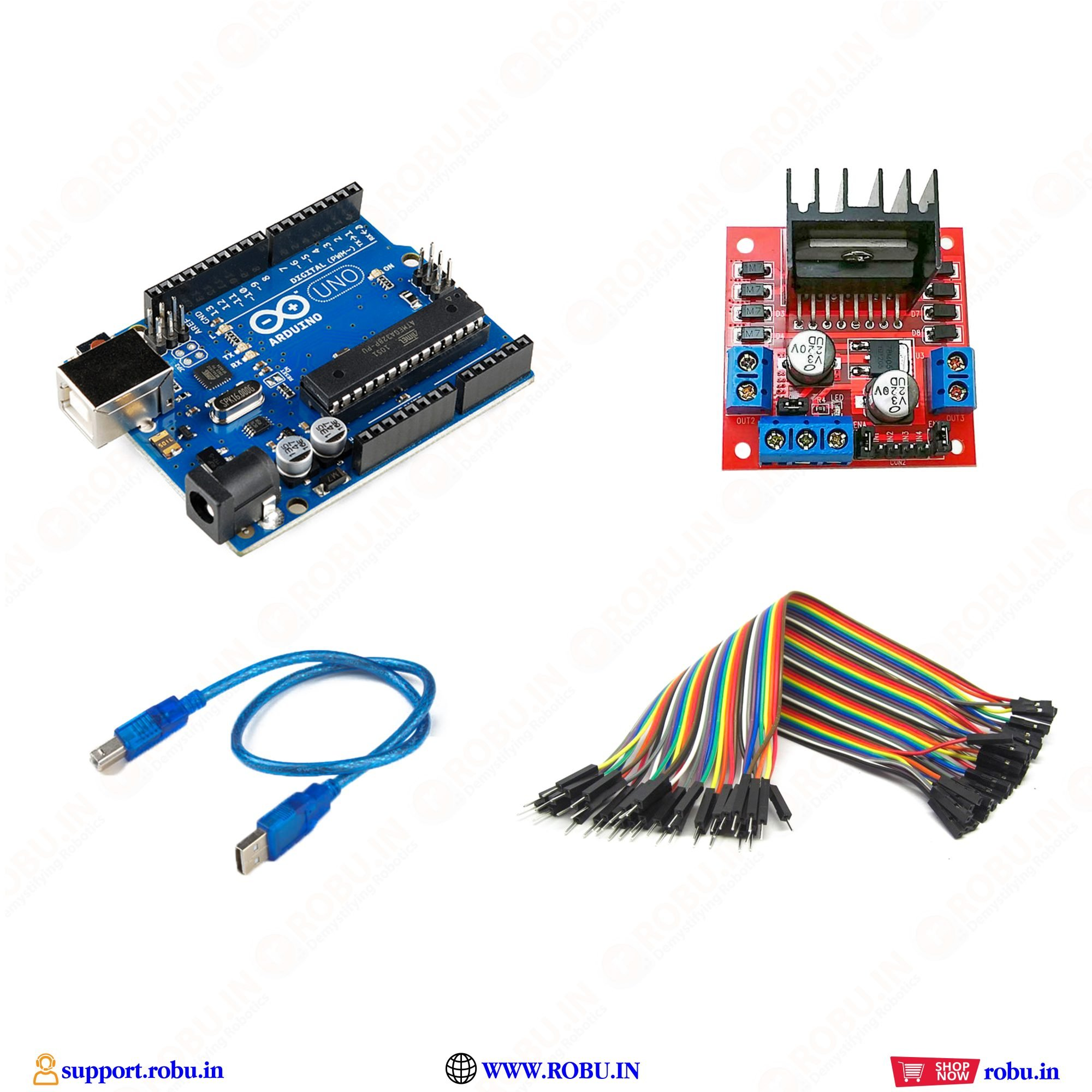EasyMech Warrior Chassis Complete Combo Kit
