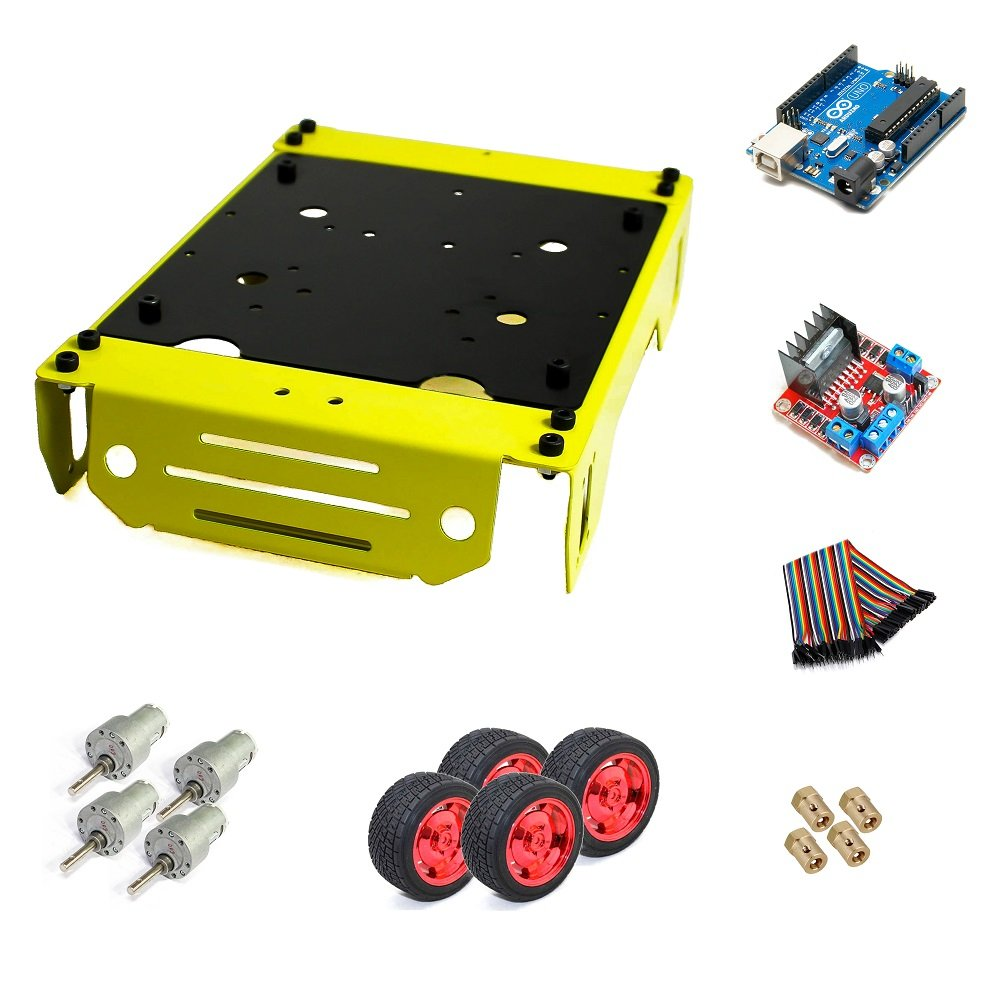 EasyMech Warrior Chassis Complete Combo Kit (Robu.in)