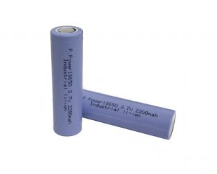 Standard 18650 2200mAh 3.7v Rechargeable Li-Ion Battery
