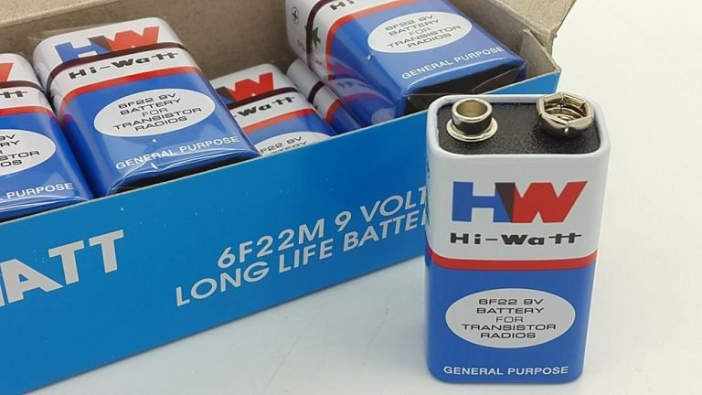 9V Original HW High-Quality Battery-5Pcs.