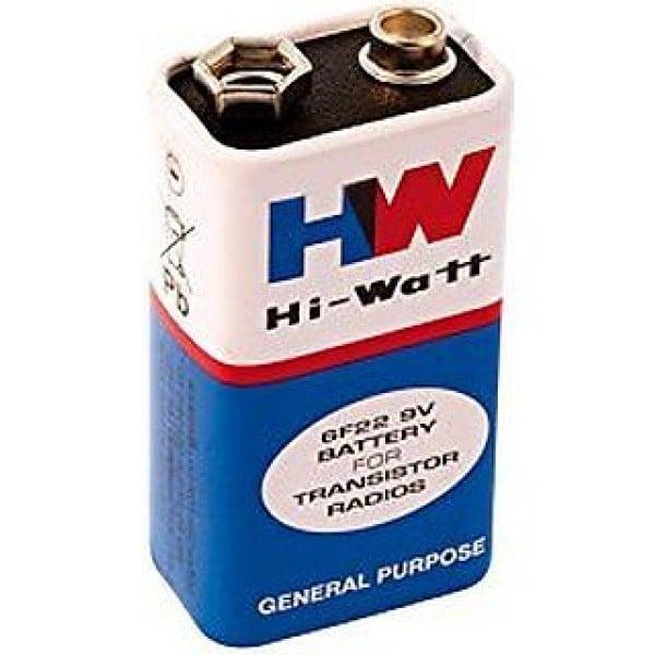 9V Original HW High-Quality Battery-5Pcs.