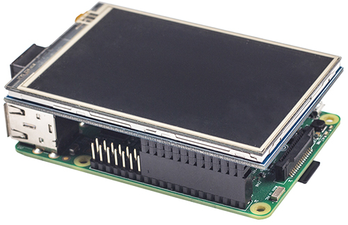 """3.5"""" Touch-Screen LCD Raspberry Pi"""