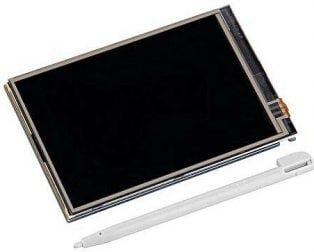 "3.5"" Touch-Screen LCD Raspberry Pi"
