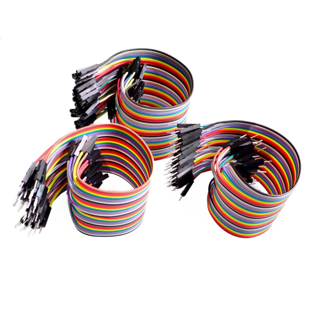 20 CM 40 Pin Dupont Male/Male, Male/Female, Female/Female Cable Combo