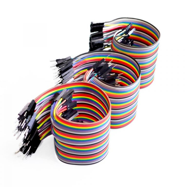 10 CM 40 Pin Dupont Male/Male, Male/Female, Female/Female Cable Combo