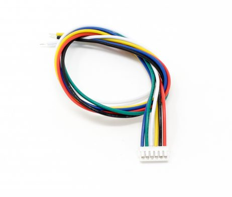 JST SH 6-pin Connectors (2.15mm pin spacing with 200mm wires)
