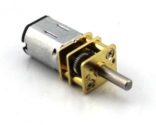N20-6V-200 RPM Micro Metal Gear-box DC Motor