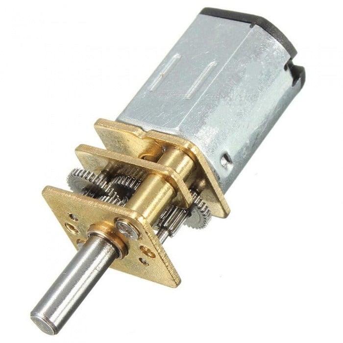 N20-6V-60 RPM Micro Metal Gear-box DC Motor