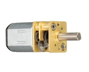 N20-12V-60 RPM Micro Metal Gear-box DC Motor