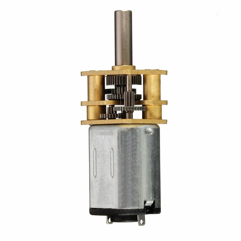 N20-12V-300 Rpm Micro Metal Gear Motor