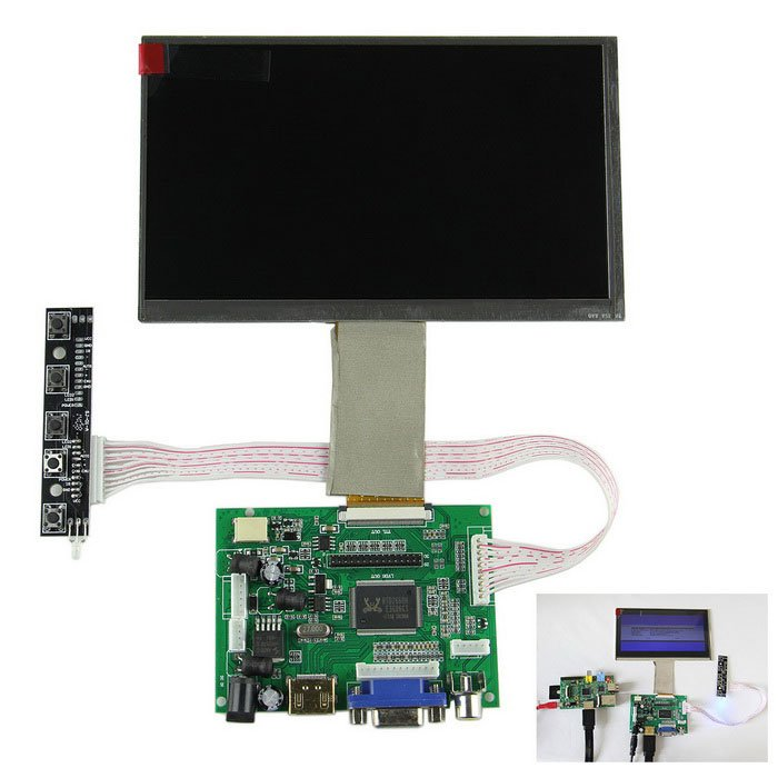 10.1 inch IPS LCD Screen with Driver Board Kit for Raspberry Pi - ROBU (7)