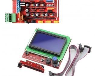 3D Printer Display and Controller