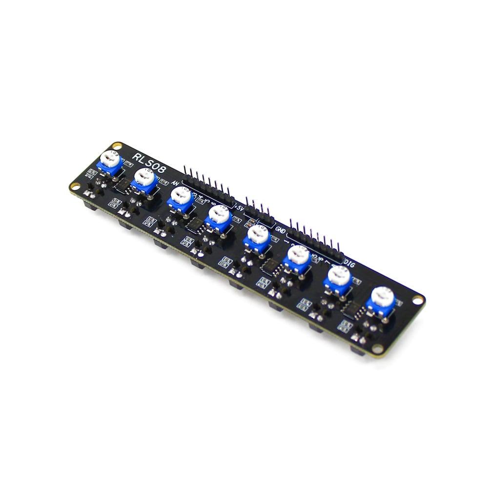 SmartElex RLS-08 Analog & Digital Line Sensor Array