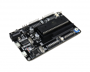 SmartElex ATmega32 Development Board on-board Programmer