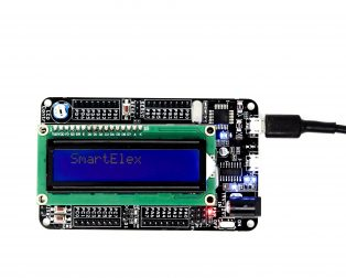 SmartElex ATmega32 Development Board