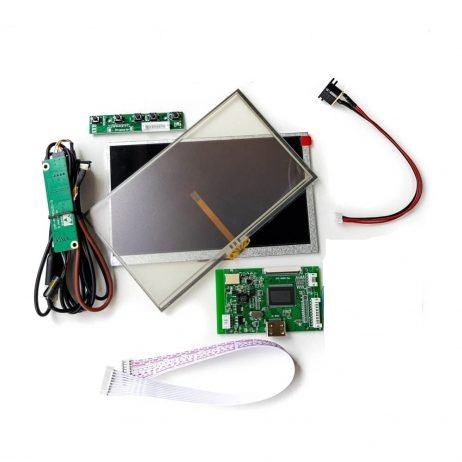 7 Inch LCD Touch Display With HDMI Driver Board Kit For Raspberry Pi