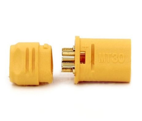 MT30 3 Pole Motor/ESC Connector Set Male+Female Pair (1 Set)