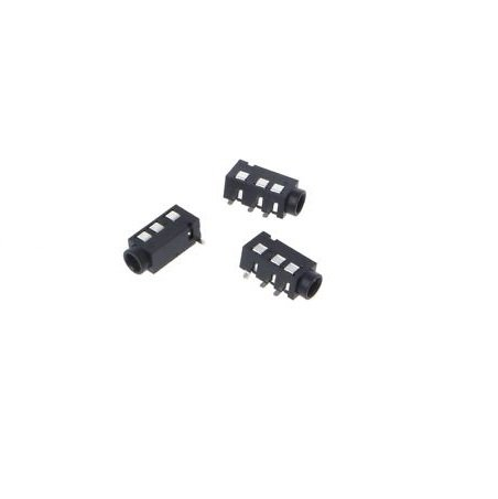 Audio Jack - 3.5mm TRRS (SMD)-4Pcs
