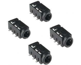 SmartElex Audio Jack - 3.5mm TRRS (SMD)-4pcs