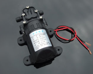 550 Diaphragm Pump 12V Water Pump for Water Spray Fish Tank Reflux Pump