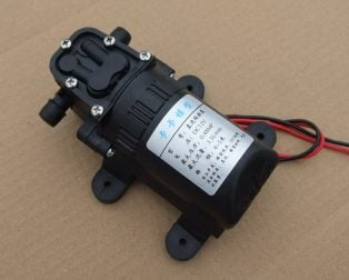 550 Diaphragm Pump 12V Water Pump for Water Spray Fish Tank Reflux Pump