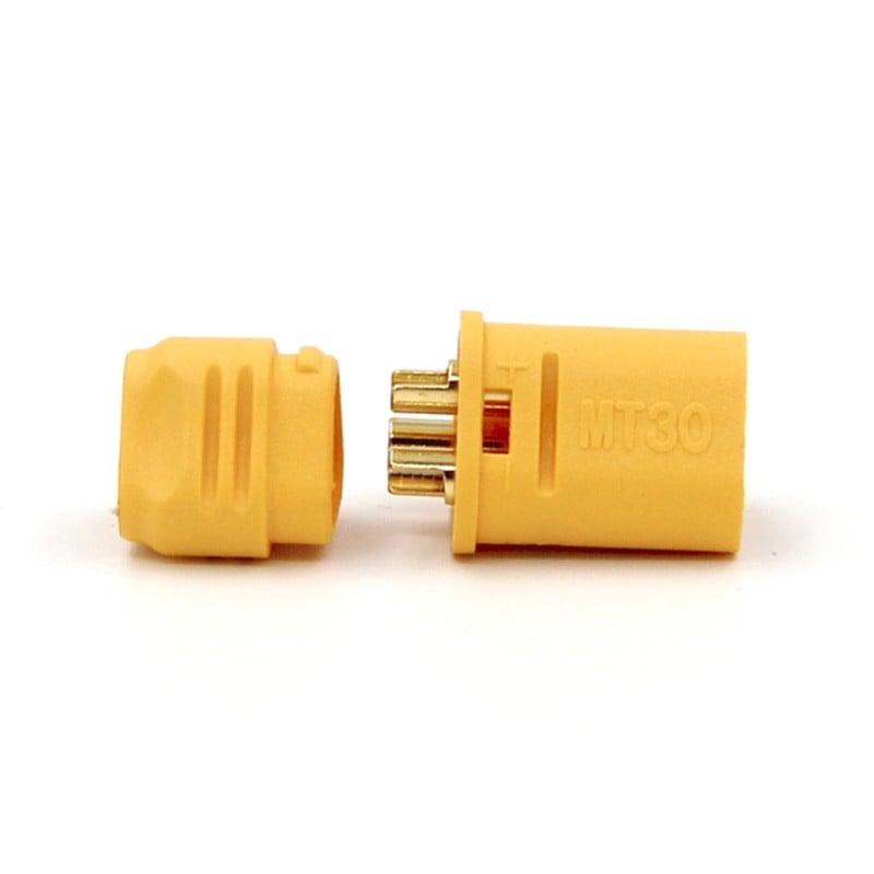 MT30 3 Pole Motor/ESC Connector Set Male+Female Pair (1 Set)