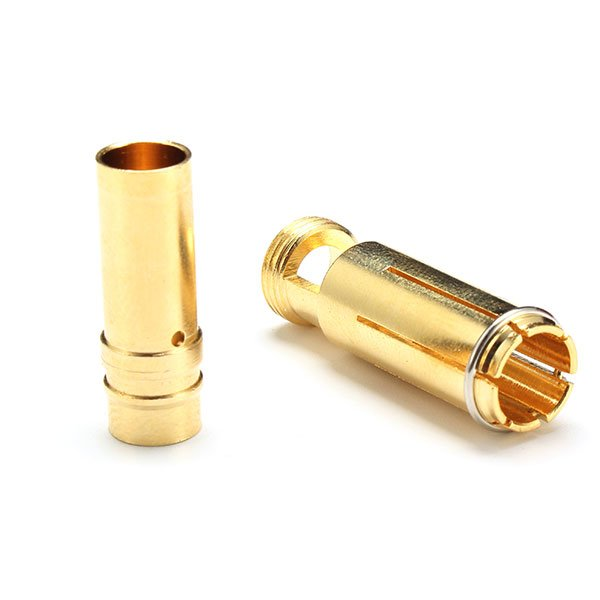 AS150 Anti Spark Self Insulating Gold Plated Bullet Connector (1 Pair)