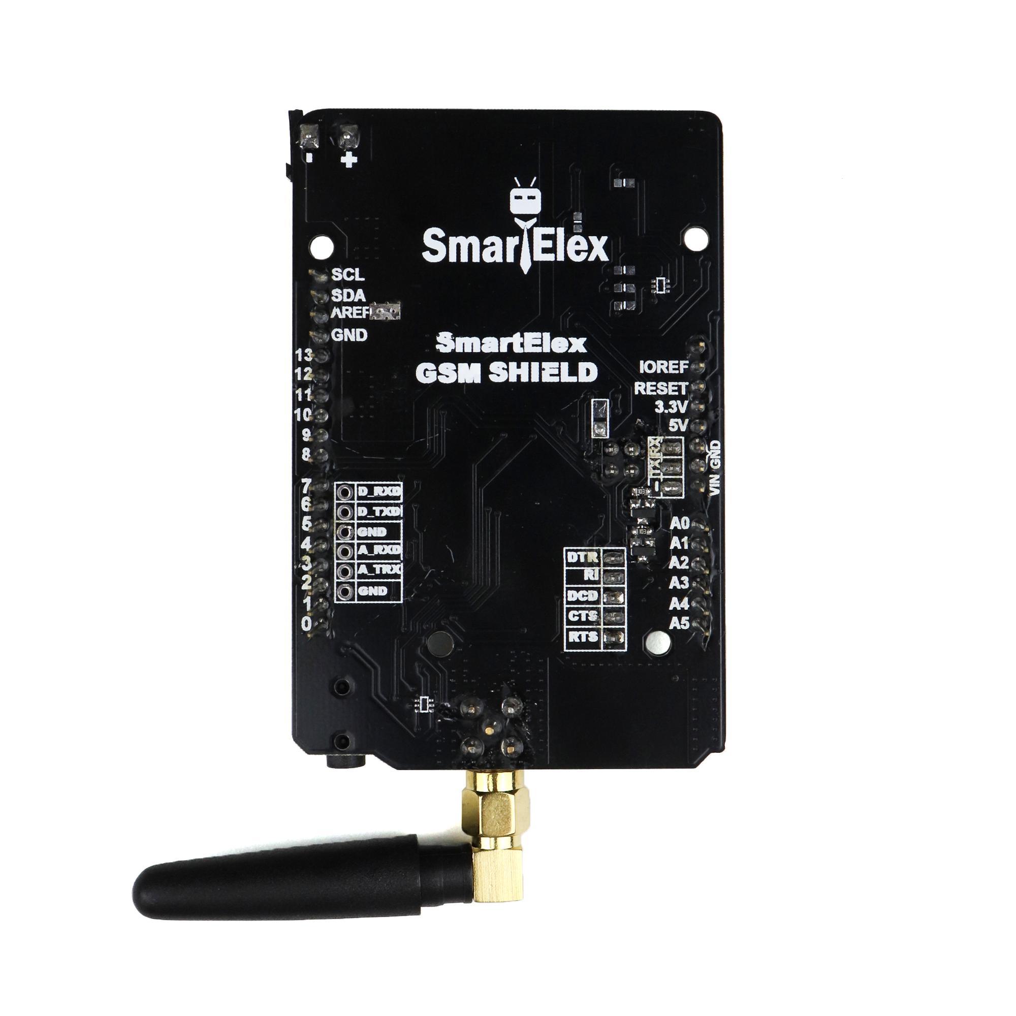 SmartElex GSM/GPRS Shield for Arduino