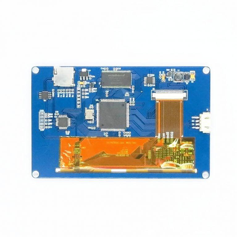 Nextion NX8048T050 - 5.0 LCD TFT HMI Intelligent Touch Display