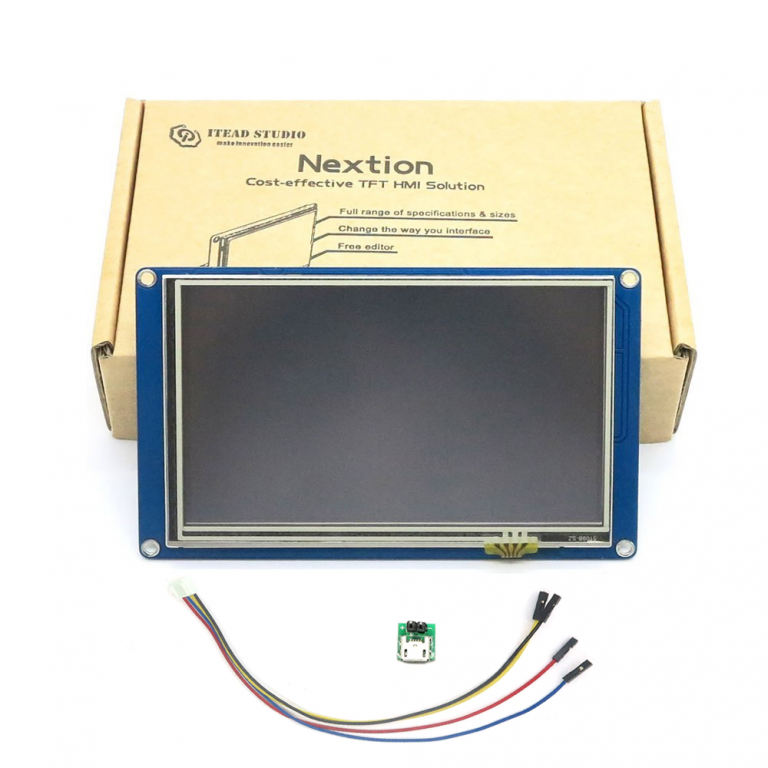 "Nextion NX8048T070-Generic 7.0"" HMI TFT LCD Touch Display"