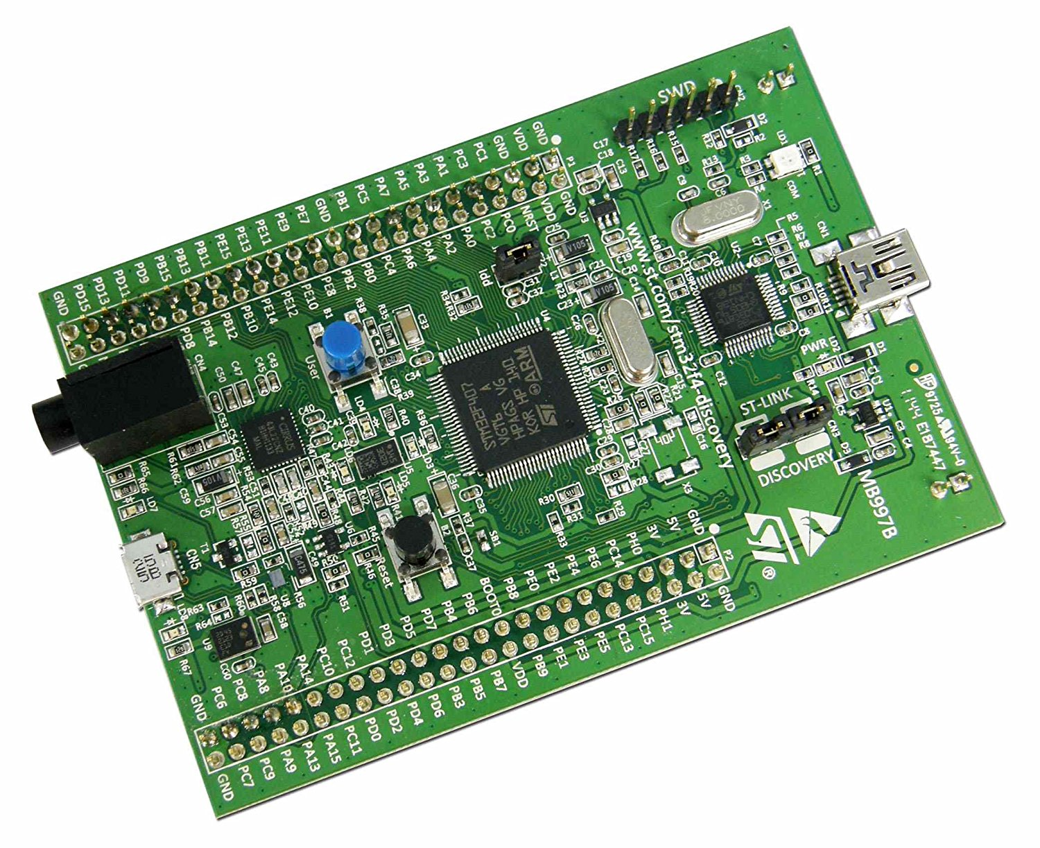 STM32F407 Discovery Kit for STM32F407