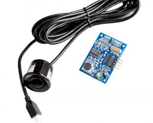 Waterproof Ultrasonic Obstacle Sensor, with 2.5 mtr. Separate Probe