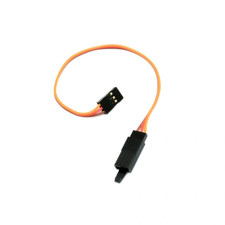 SafeConnect Flat 15CM 22AWG Servo Lead Extension (JR) Cable with Hook - 1PCS