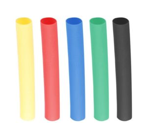 A Set of Multicolor 150mm Long Heat Shrink Sleeve-5mm Industrial Grade WOER (HST)