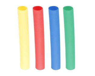 A Set of Multicolor 150mm Long Heat Shrink Sleeve-4mm Industrial Grade WOER (HST)