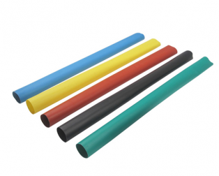 A Set of Multicolor 150mm Long Heat Shrink Sleeve-3mm Industrial Grade WOER (HST)