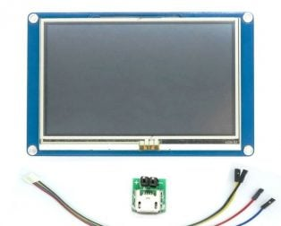 "Nextion NX4827T043 - 4.3"" TFT LCD ManMachine Interface HMI Kernel Intelligent Touch Display"