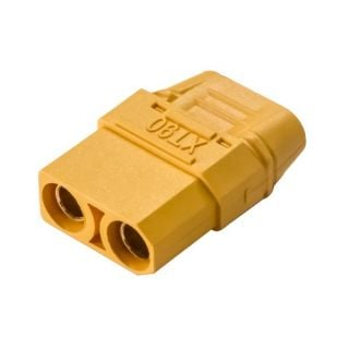 SafeConnect XT90 Plug Female 10AWG 10cm Tail with Housing