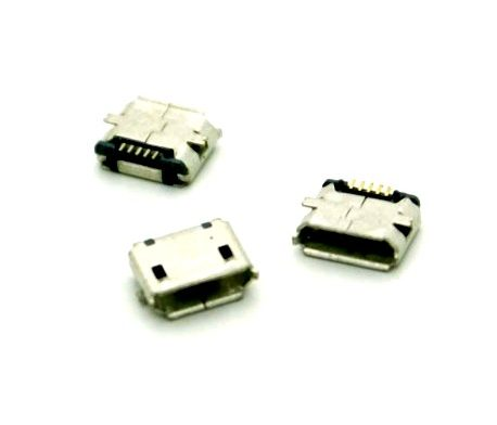 Micro USB 2.0 B type 5 Pin Connector-3Pcs.